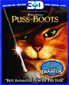 Puss in Boots 3D Blu-ray (Rental)