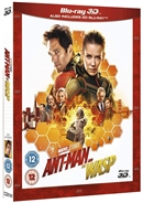 Ant-Man and the Wasp 3D 12/18 Blu-ray (Rental)