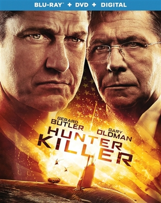 Hunter Killer 12/18 Blu-ray (Rental)