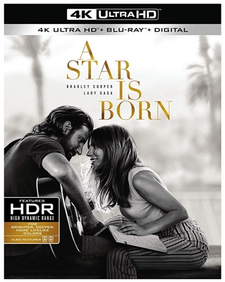 Star Is Born 4K UHD 12/18 Blu-ray (Rental)