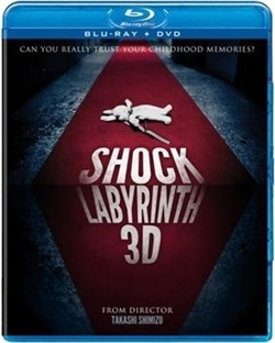 Shock Labyrinth 3D Blu-ray (Rental)