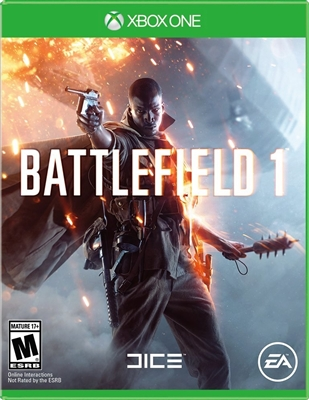Battlefield 1 Xbox One 09/16 Blu-ray (Rental)