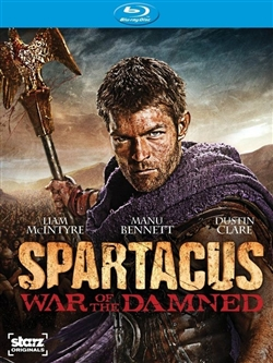 Spartacus: War of the Damned Season 3 Disc 2 Blu-ray (Rental)