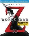 World War Z 3D Blu-ray (Rental)