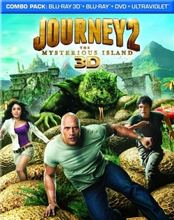 Journey 2: The Mysterious Island 3D Blu-ray (Rental)