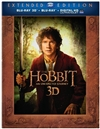 Hobbit: An Unexpected Journey Extended 3D Blu-ray (Rental)