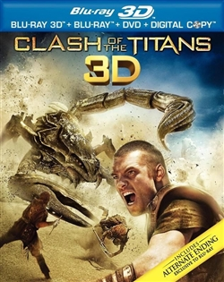 Clash of the Titans 3D Blu-ray (Rental)