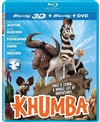 Khumba 3D Blu-ray (Rental)