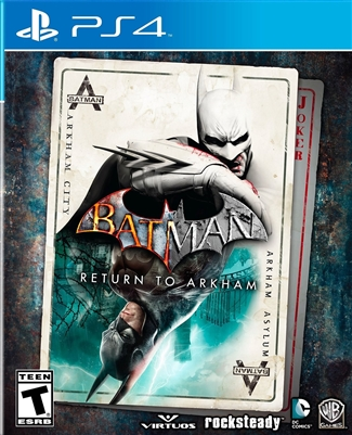 Batman: Return to Arkham PS4 Blu-ray (Rental)