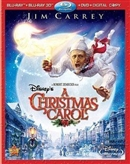 Christmas Carol 3D Blu-ray (Rental)