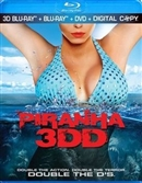 Piranha 3DD Blu-ray (Rental)
