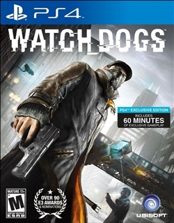 Watch Dogs PS4 Blu-ray (Rental)