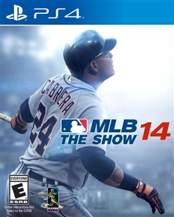MLB 14 The Show PS4 Blu-ray (Rental)