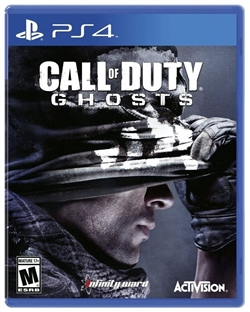Call of Duty Ghosts PS4 Blu-ray (Rental)