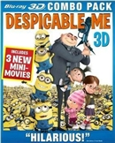 Despicable Me 3D Blu-ray (Rental)