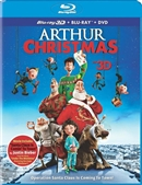 Arthur Christmas 3D Blu-ray (Rental)