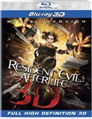 Resident Evil Afterlife 3D Blu-ray (Rental)