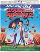 Cloudy with a Chance of Meatballs 3D Blu-ray (Rental)