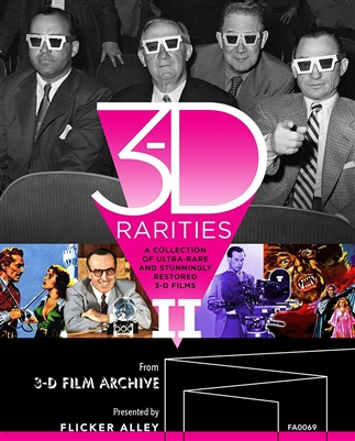 3-D Rarities, Volume II Blu-ray (Rental)