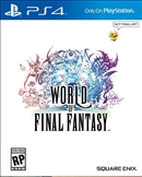 World of Final Fantasy PS4 Blu-ray (Rental)