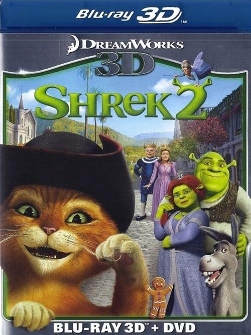 Shrek 2 3d Blu Ray Rental