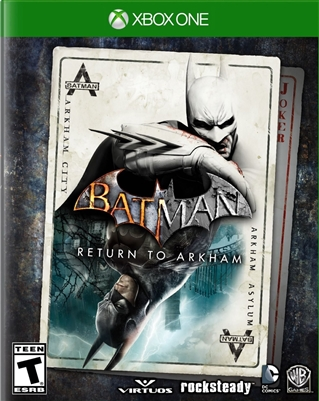 Batman: Return to Arkham Xbox One 09/16 Blu-ray (Rental)