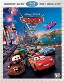 Special Features - Cars 2 Blu-ray (Rental)