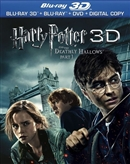 Special Features - Harry Potter Deathly Hallows Part 1 Blu-ray (Rental)