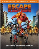 Escape from Planet Earth 3D Blu-ray (Rental)