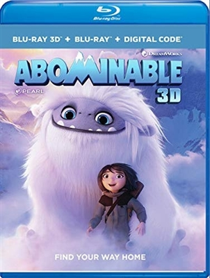 Abominable 3D 11/19 Blu-ray (Rental)