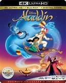 Aladdin (Animated) 4K UHD 08/19 Blu-ray (Rental)