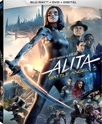 Alita: Battle Angel 05/19 Blu-ray (Rental)