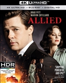 Allied 4K 01/17 Blu-ray (Rental)