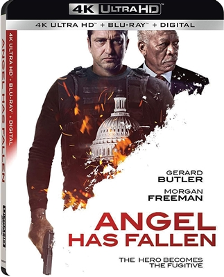 (Releases 2019/11/26) Angel Has Fallen 4K UHD 10/19 Blu-ray (Rental)