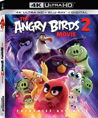 Angry Birds Movie 2 4K Blu-ray (Rental)