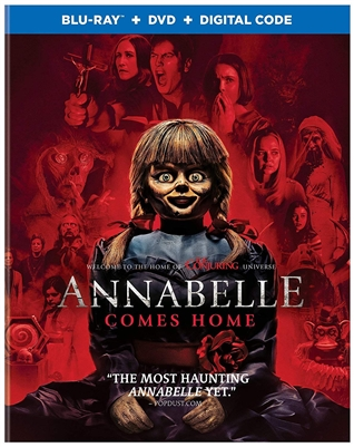 Annabelle Comes Home 09/19 Blu-ray (Rental)