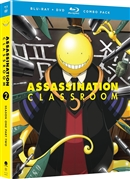 Assassination Classroom: Season 1 Part 2 Disc 2 Blu-ray (Rental)