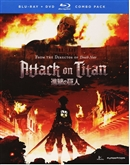 Attack on Titan Part 1 Disc 1 01/15 Blu-ray (Rental)