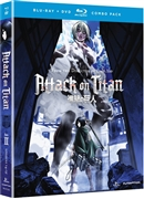 Attack on Titan Part 2 Disc 1 01/15 Blu-ray (Rental)