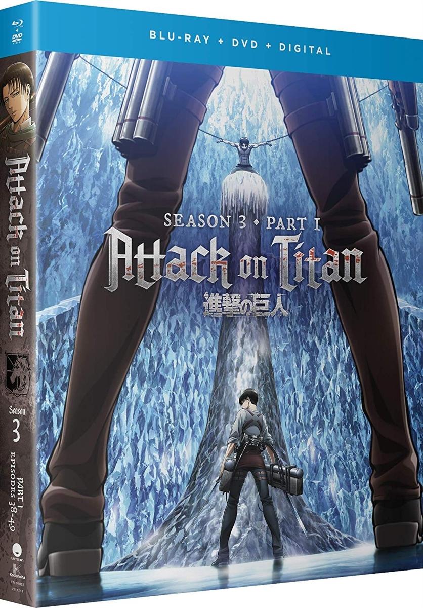 Attack on Titan: Season 3 - Part I Disc 2 Blu-ray (Rental)