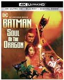 Batman: Soul of the Dragon 4K UHD 01/21 Blu-ray (Rental)
