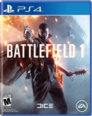 Battlefield 1 PS4 09/16 Blu-ray (Rental)