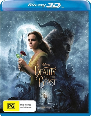 Beauty and the Beast 3D 07/17 Blu-ray (Rental)