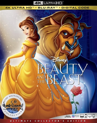 (Releases 2020/03/10) Beauty and the Beast (Animated) 4K UHD Blu-ray (Rental)