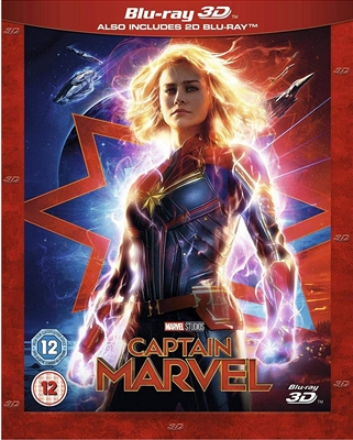 Captain Marvel 3D Blu-ray (Rental)