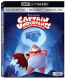 Captain Underpants: The First Epic Movie 4K UHD Blu-ray (Rental)