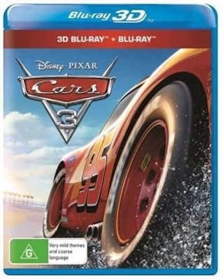 Cars 3 3D 11/17 Blu-ray (Rental)