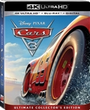Cars 3 4K UHD Blu-ray (Rental)