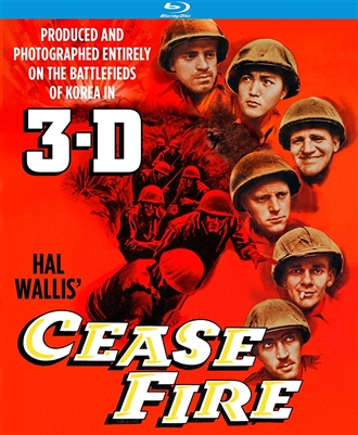 Cease Fire 3D Blu-ray (Rental)