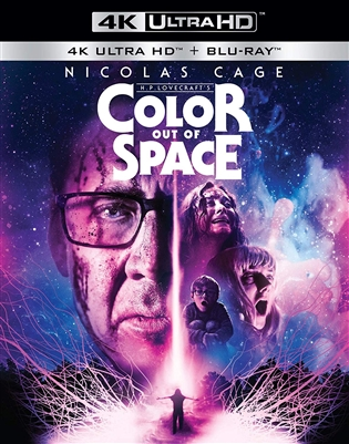 Color out of Space 4K 01/20 Blu-ray (Rental)